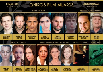 Best Supporting Actress Nomination - Oniros Film Awards