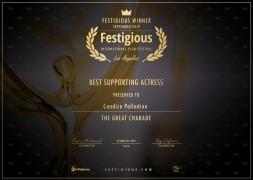 Best Support Actress - Festigious