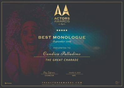 Best Monologue - Actors Awards